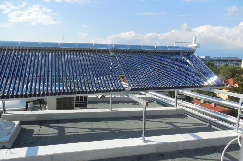 Solar cooling, The Jožef Stefan institute, Ljubljana