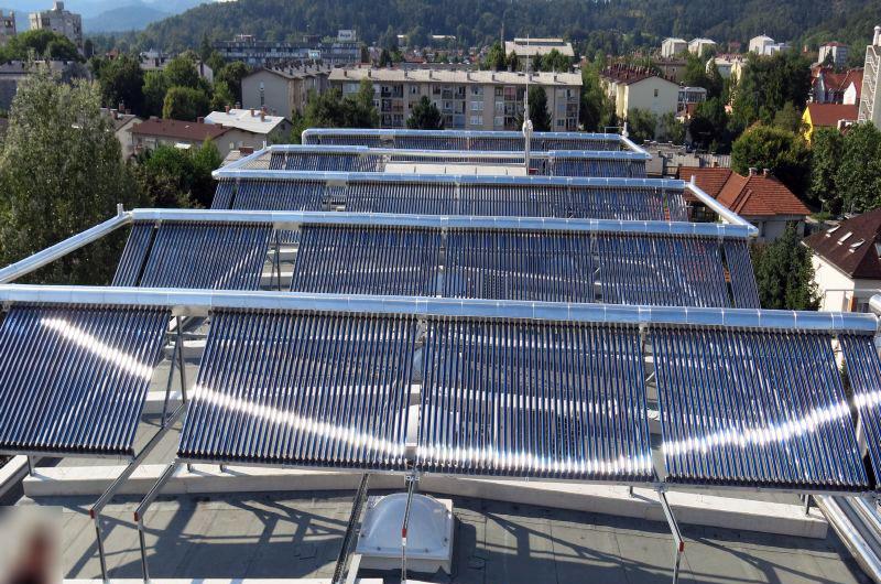 Solarno hlajenje, Inštitut Jožef Štefan, Ljubljana