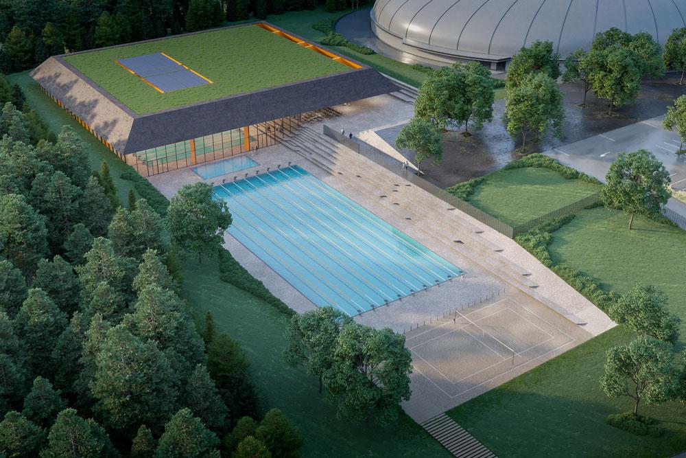 Plavalni bazen Novo Mesto